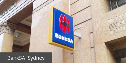 BankSA Sydney
