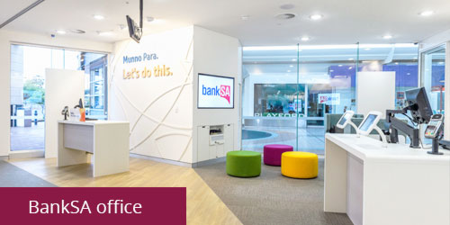 bankSA office