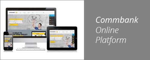 Commbank online platform