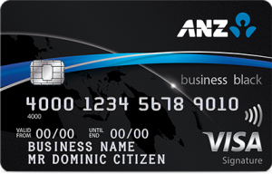ANZ Business Black Credit Card Australia